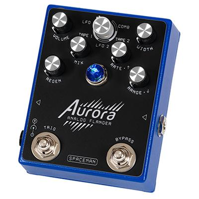 SPACEMAN EFFECTS Aurora Standard Blue Pedals and FX Spaceman Effects