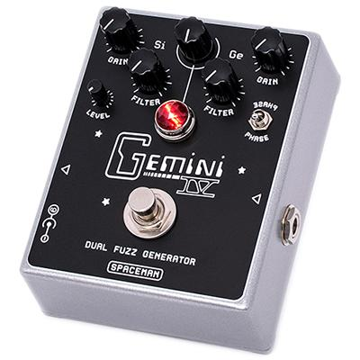 SPACEMAN EFFECTS Gemini IV Silver Pedals and FX Spaceman Effects