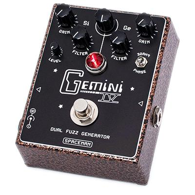SPACEMAN EFFECTS Gemini IV Vintage Copper Pedals and FX Spaceman Effects