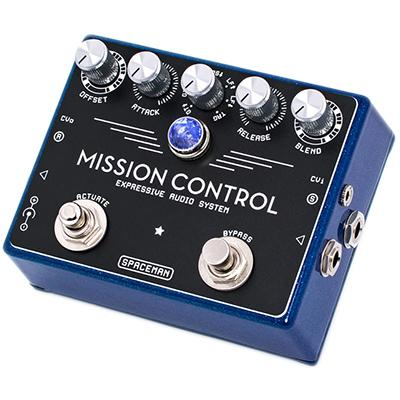 SPACEMAN EFFECTS Mission Control Blue Sparkle Pedals and FX Spaceman Effects