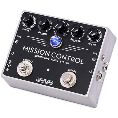 SPACEMAN EFFECTS Mission Control Silver Pedals and FX Spaceman Effects