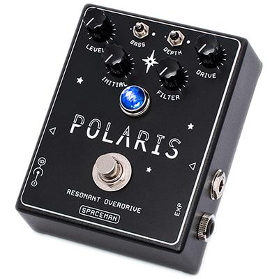 SPACEMAN EFFECTS Polaris Resonant Overdrive Black Pedals and FX Spaceman Effects