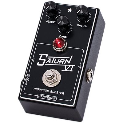 SPACEMAN EFFECTS Saturn VI Limited Black Pedals and FX Spaceman Effects