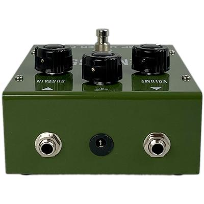 STOMP UNDER FOOT Vintage Green Russian Pedals and FX Stomp Under Foot
