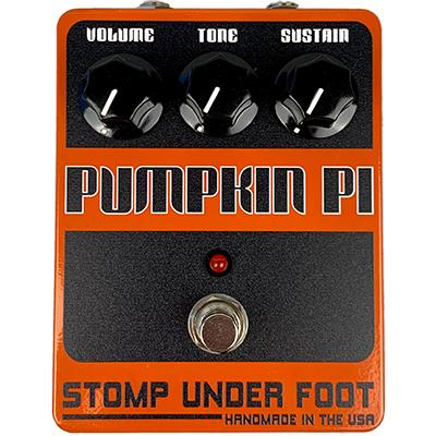STOMP UNDER FOOT Pumpkin Pi Pedals and FX Stomp Under Foot