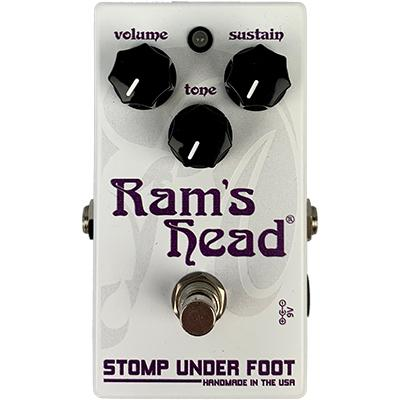 STOMP UNDER FOOT Ram's Head Pedals and FX Stomp Under Foot
