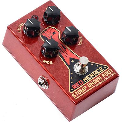 STOMP UNDER FOOT Red Menace Pedals and FX Stomp Under Foot