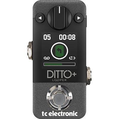 TC ELECTRONIC Ditto + Looper Pedals and FX TC Electronic