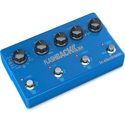 TC ELECTRONIC Flashback 2 X4 Delay Pedals and FX TC Electronic