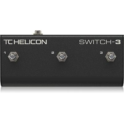 TC ELECTRONIC Switch-3 Pedals and FX TC Electronic