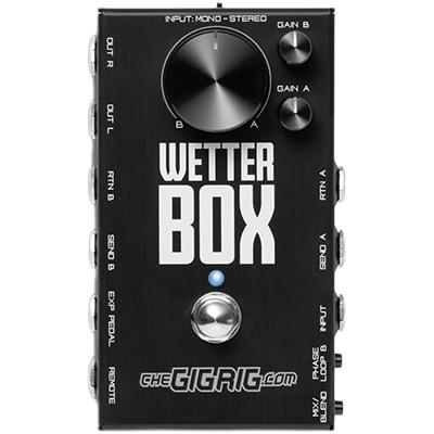 THE GIG RIG Wetter Box Pedals and FX The Gig Rig