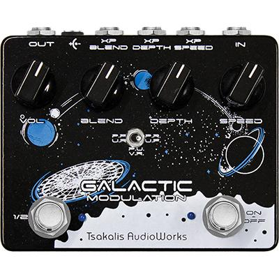 TSAKALIS AUDIO WORKS Galactic Pedals and FX Tsakalis Audio Works