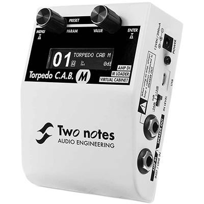 TWO NOTES C.A.B M Pedals and FX Two Notes