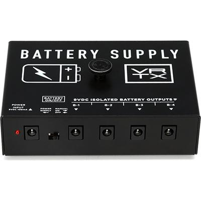 VERTEX EFFECTS Battery Power Supply MKII Pedals and FX Vertex Effects