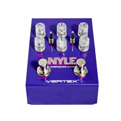 VERTEX EFFECTS Nyle Compressor Pedals and FX Vertex Effects