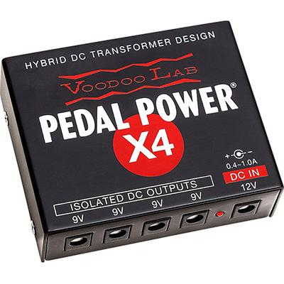 VOODOO LAB Pedal Power X4 Pedals and FX Voodoo Lab