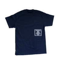oval t-shirt navy
