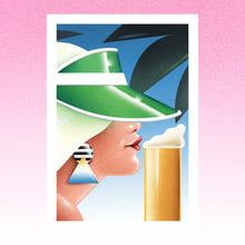 Load image into Gallery viewer, Woman with beer--Limited edition of 25
