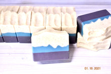 Load image into Gallery viewer, Blackberry Sage Artisan Soap w/Coconut Milk