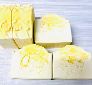 Lemon Drop Artisan Shea Butter Soap