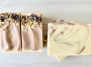 Lavender & Oats Natural Soap w/ Coconut Milk