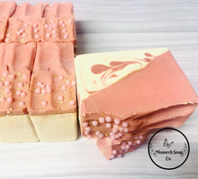 Load image into Gallery viewer, Rose Gold Artisan Soap w/Coconut Milk