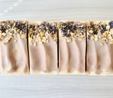 Load image into Gallery viewer, Lavender & Oats Natural Soap w/ Coconut Milk
