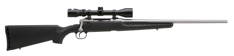 Savage Axis XP - Stainless w/ Bushnell Scope