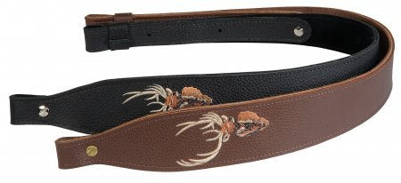 Levy's Leather Sling - Embroidered Elk