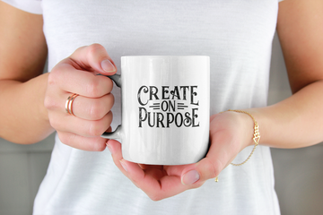 Create on Purpose - Inspirational Mug
