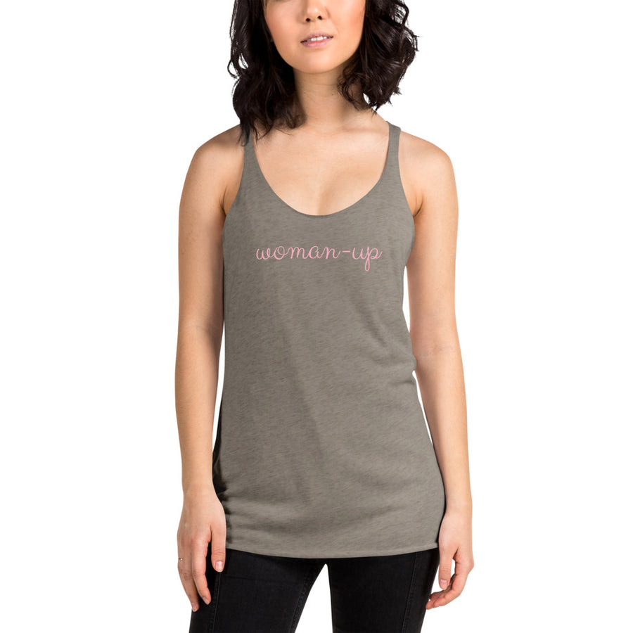 Woman-Up - Inspirational Ladies' Tank