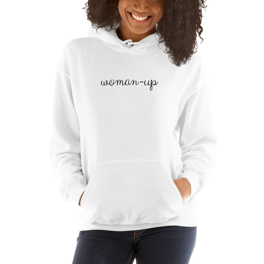 Woman-Up - Inspirational Ladies' Hoodie