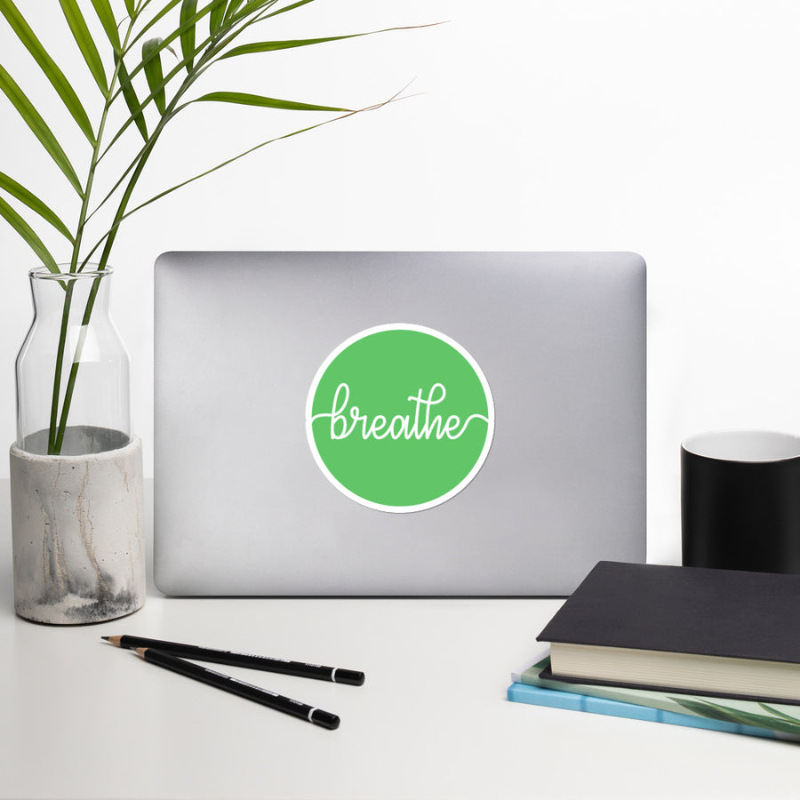Breathe - Inspirational Sticker