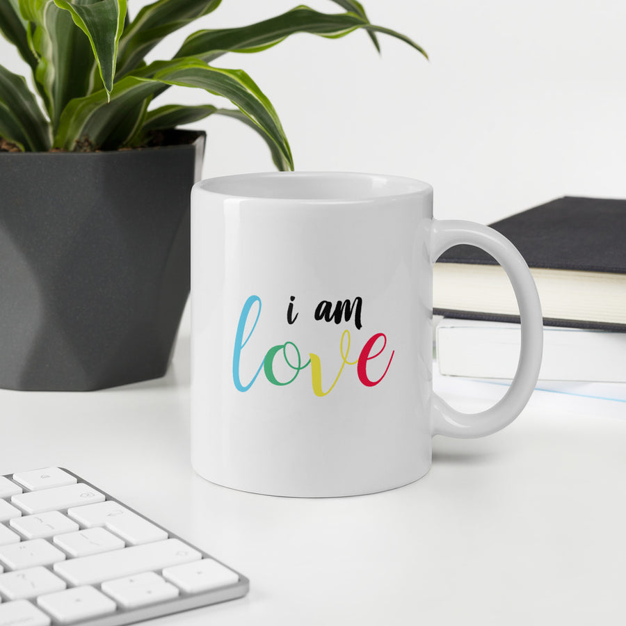 I Am Love - Inspirational Coffee Mug