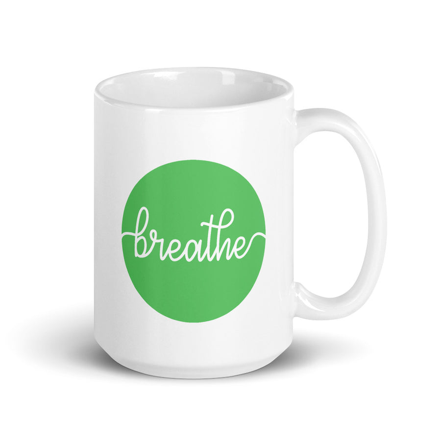 Breathe - Inspirational Mug