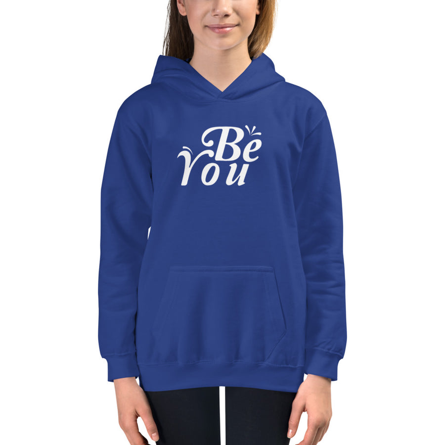 Be You - Inspirational Kids Hoodie