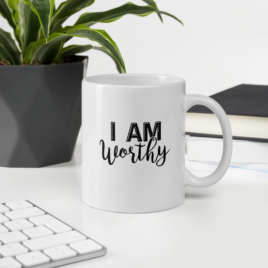 I AM Worthy - Inspirational Mug