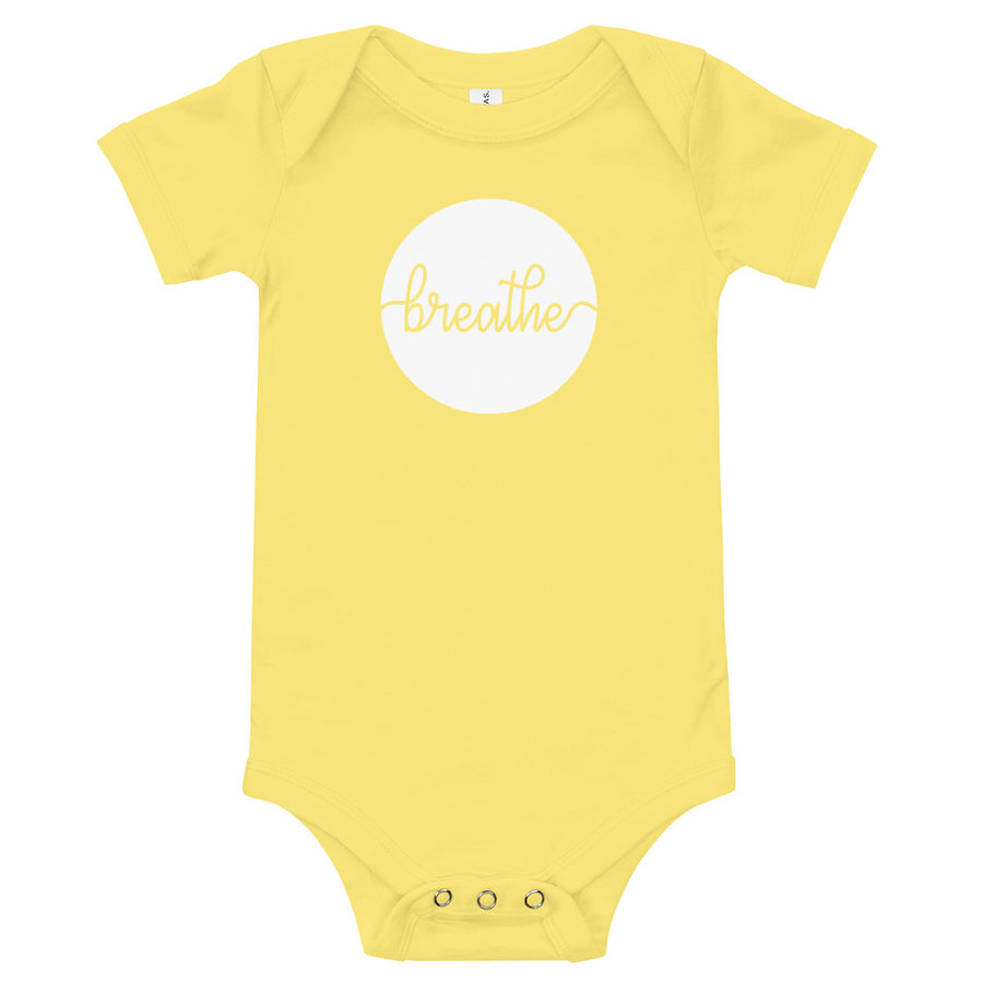 Breathe - Inspirational Baby One Piece