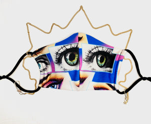 Private Eyes Mask (chain sold separately)