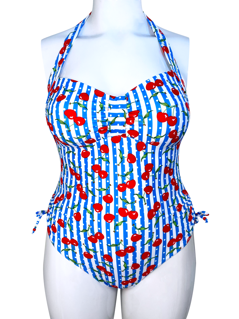 POLKA DOT CHERRY Turner one piece