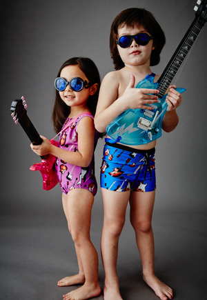 Guitar kids swimsuits