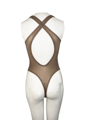 FANGO SHEER THONG BODYSUIT