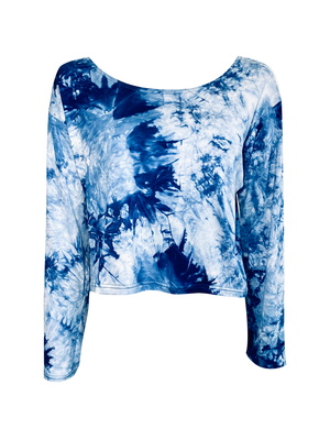 TRUE BLUE LOUNGE TOP