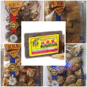 Traditional snacks Combo pack 1 (From RRK Sweets co)