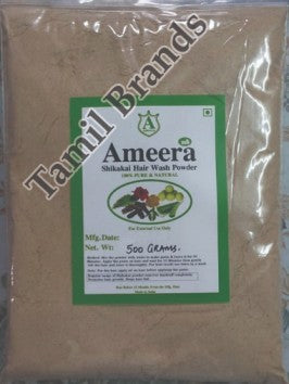 Herbal Hair Wash Shikakai Powder 500g  Ameera Global exports