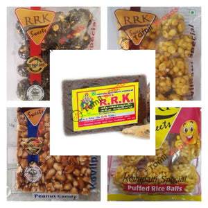Traditional snacks Combo pack 2 (From RRK Sweets co)