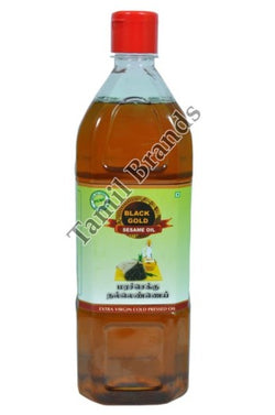 100% Natural Marachekku Sesame oil/Gingelly Oil 1 ltr  Black Gold Edible Oils