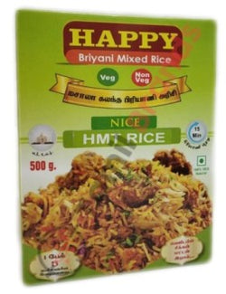Happy Briyani Mixed Rice HMT 500g Asian Marketting