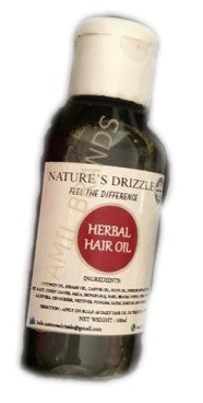 Home Made Herbal Hair Oil 100ml Nature's Drizzle