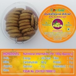 Gooseberry Biscuits (Amla) 170g From Pot foods